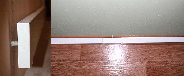Так как СТЕП ПН имеют две греющие поверхности, их располагают на расстоянии не менее 10 см от пола и 2 см от стены.