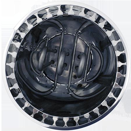 ТЭНы печи выполнены из высоколегированной нержавеющей стали.