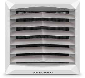 Тепловентилятор VR mini (двигатель АС) Мощность 3-20 кВтРазмер тепловентилятора (ДхШхГ, вместе с монтажной косолью) 53х53х51,7 смКоличество рядов теплообменника2Максимальный расход воздуха2100 м3/чДиапазон тепловых мощностей3-20 кВтМакс. температура теплоносителя130°CМакс. рабочее давление1,6 МПаМакс. длина горизонтального потока воздуха 14 мМакс. длина вертикального потока воздуха 8 мВнутренний объем теплообменника1,12 дм3Диаметр присоединительных патрубков3/4Масса агрегата (без воды) 13 кгНапряжение/частота электропитания1 ~ 230/50 В/ГцМощность электродвигателя АС0,115 кВтНоминальный ток электродвигателя АС0,53 АЧастота вращения электродвигателя AC1450 об./минСтепень защиты электродвигателя ACIP54Цветовое исполнение: Передняя часть: RAL 9016 Traffic White, задняя часть + консоль — RAL 7036 Platinum Gray, вентилятор — RAL 6038 Green