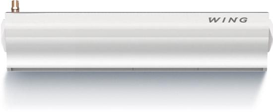 Wing W100 (двигатель АС) Мощность 4-17 кВт Водяной нагревМакс. ширина двери (1 завеса) 1 мМакс. высота двери (длина вертикальной струи) 3,7 мМакс. расход воздуха 1850 м3/чДиапазон тепловой мощности 4-17 кВтМакс. температура теплоносителя95°CМаксимальное рабочее давление1,6 МПаОбъем воды 1,6дм3Число рядов теплообменника 2Напряжение питания ~230 В / Фаза 1 / 50 ГцМощность двигателя (двигатель переменного тока) 0,18 кВтНоминальный ток (двигатель переменного тока) 1,3 АМощность двигателя (двигатель постоянного тока) 0,15 кВтНоминальный ток (двигатель постоянного тока) 1,1 АМасса (без воды) 23 кгКласс защиты двигателя IP 20(Защищен от твердых частиц более сантиметра. Прибор предназначен для сухих помещений
