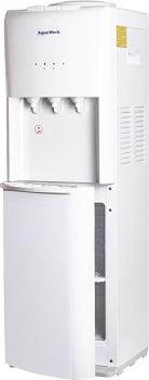 AW1345-S-В с холодильникомбелый(под заказ)