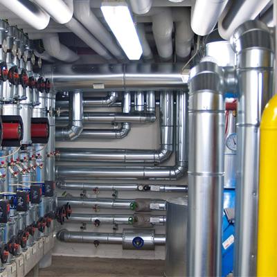 Коммунальное хозяйствоВключение в систему энергоснабжения электростанций, работающих на газе, позволяет обеспечить энергоресурсами систему собственных нужд