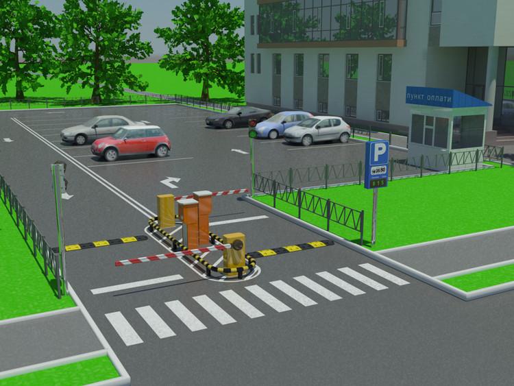 Систему автоматизированного паркинга