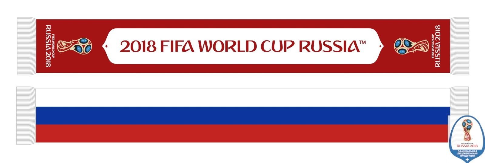 Шарфы Россия в разных вариантахЦена от 324 руб.Размер:135*17,5 см100% п/э или 100% акрил.