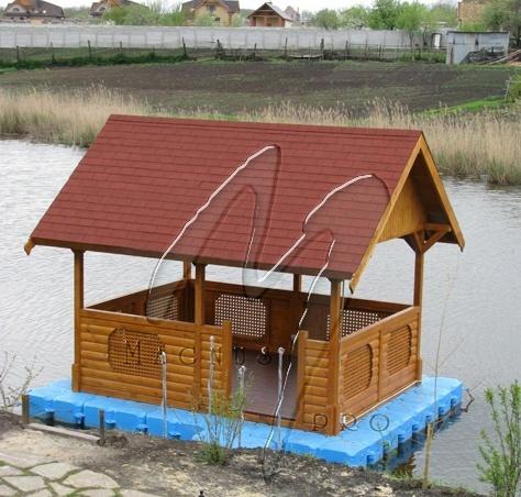 Домик на воде