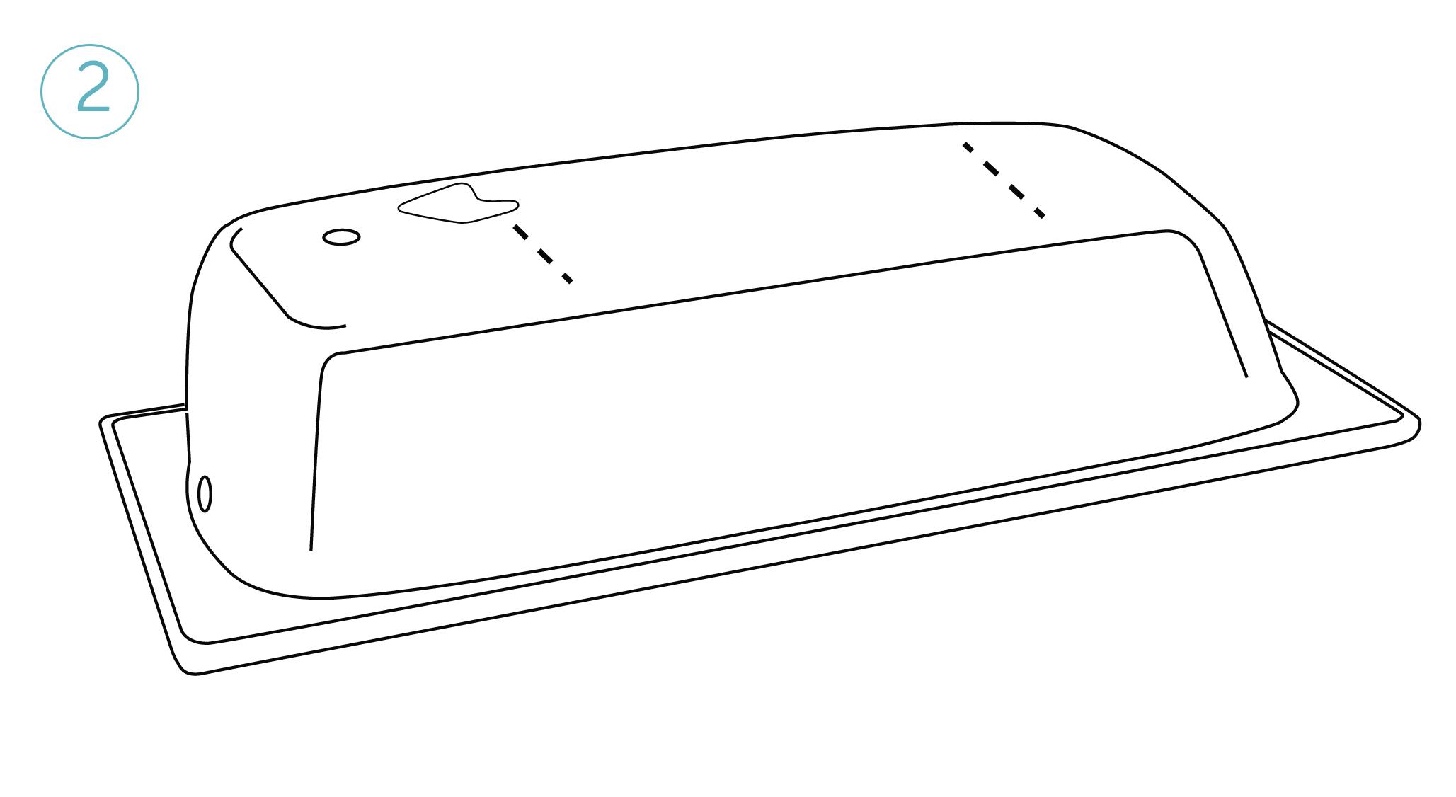 Обезжирьте место непосредственного соприкосновения ножек с ванной, преждечем снять с ножек плёнку (покрытие самоклеющихся ножек).