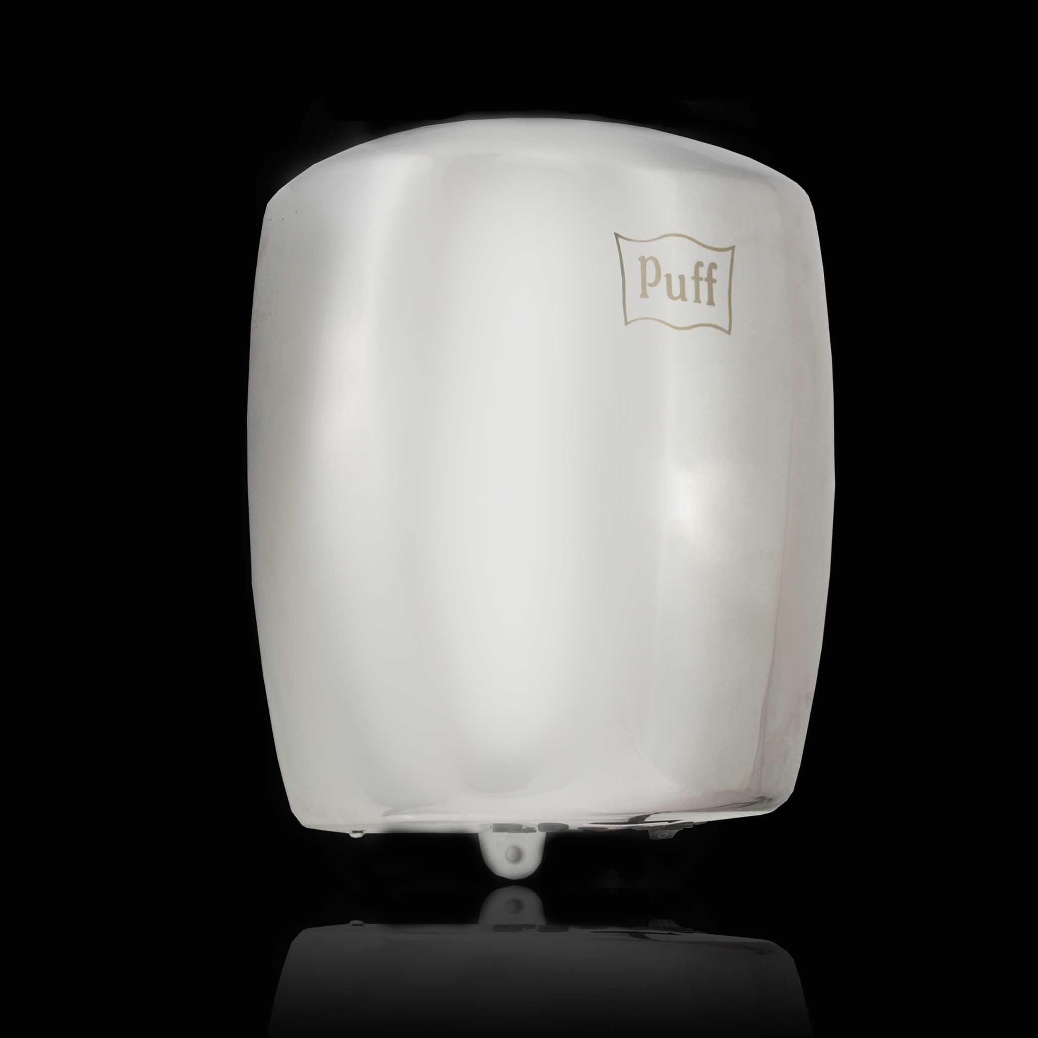 АнтивандальнаяВысокоскоростная сушилка для рукPuff-8887Подробнее Энергоэффективная! Облегченный вариант. Сочетает в себе такие параметры как качество, экономичность и интересный дизайн. Есть кнопка переключения холодный/горячий воздух. Материал корпуса: нержавеющая стальЦвет: хромМощность (Вт): 1200Скорость воздушного потока (м/сек): 80Время сушки рук (сек): 5-7Механизм включения: автоматическийОбласть срабатывания сенсора, см: 5-20Уровень шума, дБ: 70Температура воздушного потока,23/54 С 2 режима - холодный/горячий воздухКласс влагозащищенности: IPX1Защита от перегрева/перегрузки: даВес брутто/нетто, кг: 3.5/3Габаритные размеры (мм) (ШхГхВ): 210х182х270Гарантия: 12 мес.