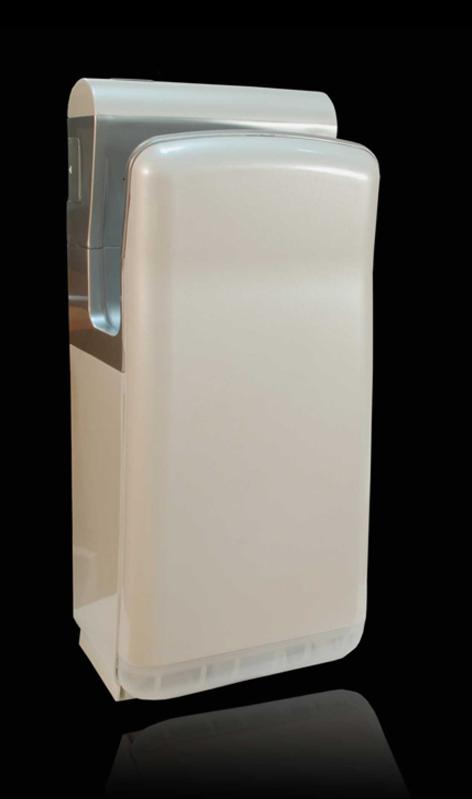 Погружная Высокоскоросная сушилка для рукPuff-8870   Обладает элегантным дизайном. Выполнена в приятном жемчужном цвете. Не сушит кожу. Отлично подходит для мест с повышенной проходимостью.     Материал корпуса: ABC-ПластикЦвет: Жемчужно БелыйМощность (Вт): 2000Скорость воздушного потока (м/сек): 95Время сушки рук (сек): 5-7Механизм включения: автоматическийОбласть срабатывания сенсора, см: 5-20Уровень шума, дБ: 78Температура воздушного потока,23/65 С: 2 режима - холодный/горячий воздухКласс влагозащищенности: IPX 4Защита от перегрева/перегрузки: даВес брутто/нетто, кг: 9,8/8,3Габаритные размеры (мм) (ШхГхВ): 290х220х685Гарантия: 12 мес.