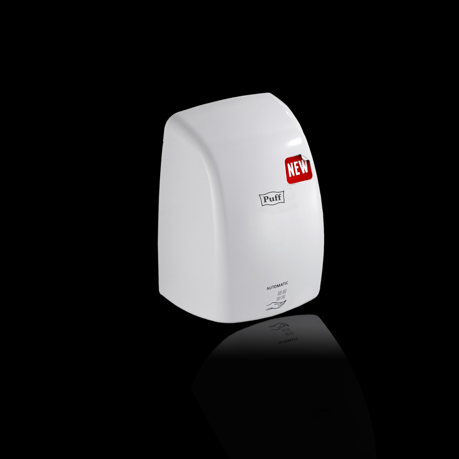 Тихая Высокоскоростная сушилка для рукPuff-8815Подробнее  Уникальная новинка! Инновационныя технология Двигателя позволяет данной сушилке при мощности всего 1 кВт, выдавать максимальную скорость воздушного потока 95 м/с    Материал корпуса: ABC-ПластикЦвет: БелыйМощность (Вт): 1000Скорость воздушного потока (м/сек): 95Время сушки рук (сек): 5-7Механизм включения: автоматическийОбласть срабатывания сенсора, см: 5-20Уровень шума, дБ: 55Температура воздушного потока, 40-50 °CКласс влагозащищенности: IPX 1Защита от перегрева/перегрузки: даВес брутто/нетто, кг: 1,3/1,4Габаритные размеры (мм) (ШхГхВ): 155х148х220Гарантия: 12 мес.