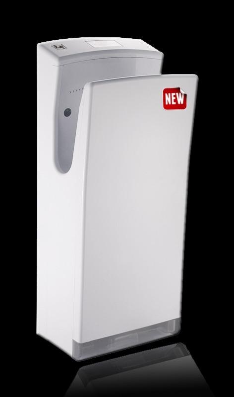 Погружная Высокоскоростная сушилка для рукPuff-8890   Новинка! Обладает стильным дизайном и самой высокой скоростью воздушного потока из погружных сушилок для рук - более 100 м/с. Не сушит кожу. Отлично подходит для мест с повышенной проходимостью. .     Материал корпуса: ABC-ПластикЦвет: БелыйМощность (Вт): 1500/2200Скорость воздушного потока (м/сек): 100Время сушки рук (сек): 5-7Механизм включения: автоматическийОбласть срабатывания сенсора, см: 5-20Уровень шума, дБ: 78Температура воздушного потока,23/65 С: 2 режима - холодный/горячий воздухКласс влагозащищенности: IPX 4Защита от перегрева/перегрузки: даВес брутто/нетто, кг: 9/7,6Габаритные размеры (мм) (ШхГхВ): 300х225х720Гарантия: 12 мес.