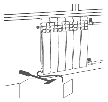 После завершения монтажа необходимо провести гидравлические испытания радиатора , т.е. создать давление в 1,5 раза превышающее рабочее.
