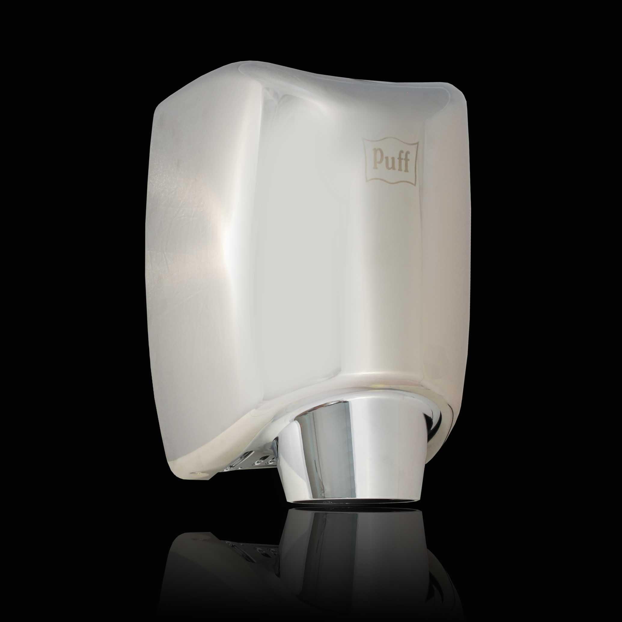АнтивандальнаяВысокоскоростная сушилка для рукPuff-8856Подробнее Энергоэффективная! Сочетает в себе такие параметры как качество, экономичность и интересный дизайн. Сделана из высококачественной нержавеющей стали 1,5 мм. Есть кнопка переключения холодный/горячий воздух.  Материал корпуса: нержавеющая стальЦвет: хромМощность (Вт): 1200Скорость воздушного потока (м/сек): 80Время сушки рук (сек): 5-7Механизм включения: автоматическийОбласть срабатывания сенсора, см: 5-20Уровень шума, дБ: 75Температура воздушного потока,23/54 С2 режима - холодный/горячий воздухКласс влагозащищенности: IPX1Защита от перегрева/перегрузки: даВес брутто/нетто, кг: 6,2/5,4Габаритные размеры (мм) (ШхГхВ): 200х235х300Гарантия: 12 мес.