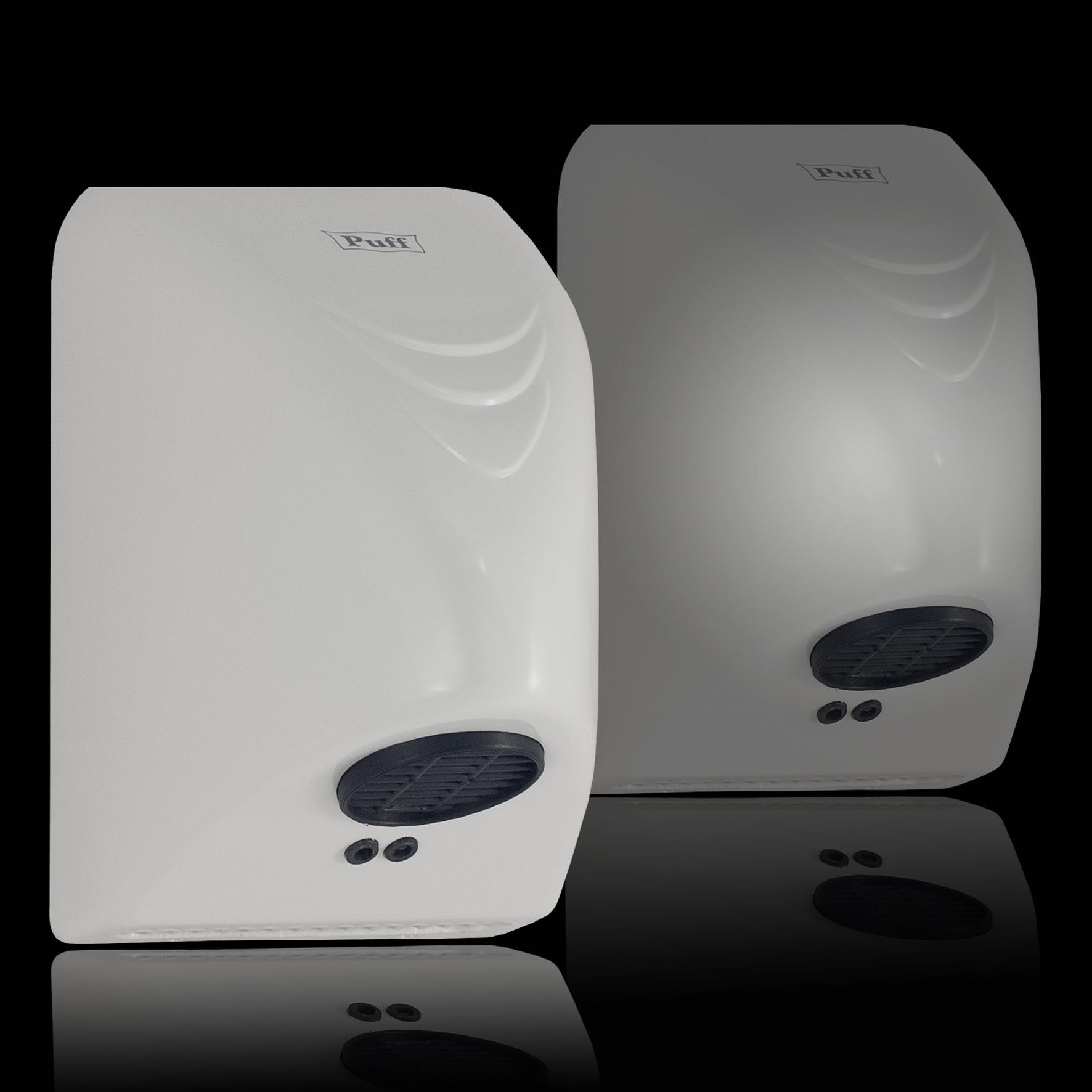 Тихая сушка для рукPuff-8814/8814СПодробнее   Малошумная. Самая экономичная и миниатюрная сушилка для рук в своем классе. Подходит для мест с малой проходимостью.Выполнена в двух цветах - в белом и в хроме.     Материал корпуса: ABC-платикЦвет: Белый / хромМощность (Вт): 800Скорость воздушного потока (м/сек): 10Время сушки рук (сек): 15-20Механизм включения: автоматическийОбласть срабатывания сенсора, см: 5-20Уровень шума, дБ: 50Температура воздушного потока, С: 40-55°СКласс влагозащищенности: IPX1Защита от перегрева/перегрузки: даВес брутто/нетто, кг: 0,85/0,75Габаритные размеры (мм) (ШхГхВ): 140*150*215Гарантия: 12 мес.