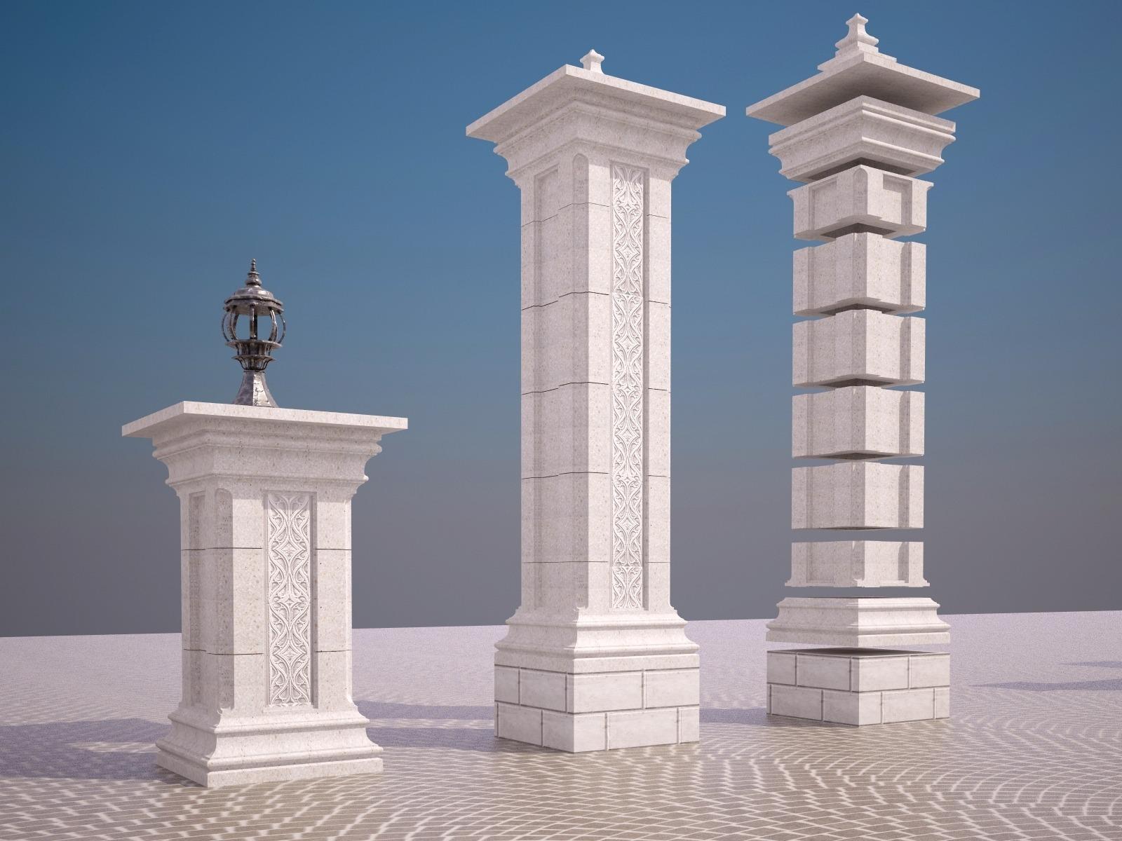 Возможность сборки, как столбов для заборов, так и тумб для балюстрад