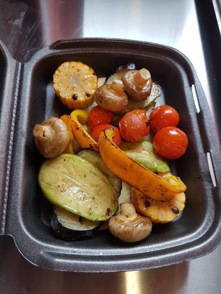 Овощи на угляхМаринованные, нежные с запахом костра.