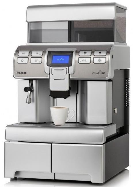 Saeco Aulika Top RI High Speed CappuccinoПрофессиональная кофемашина для работы в кафе, барах, офисах, ресторанах и клубах.Главной особенностью модели является приготовление капучино (cappuccino) за 35 секунд и латте (latte) за 45 секунд