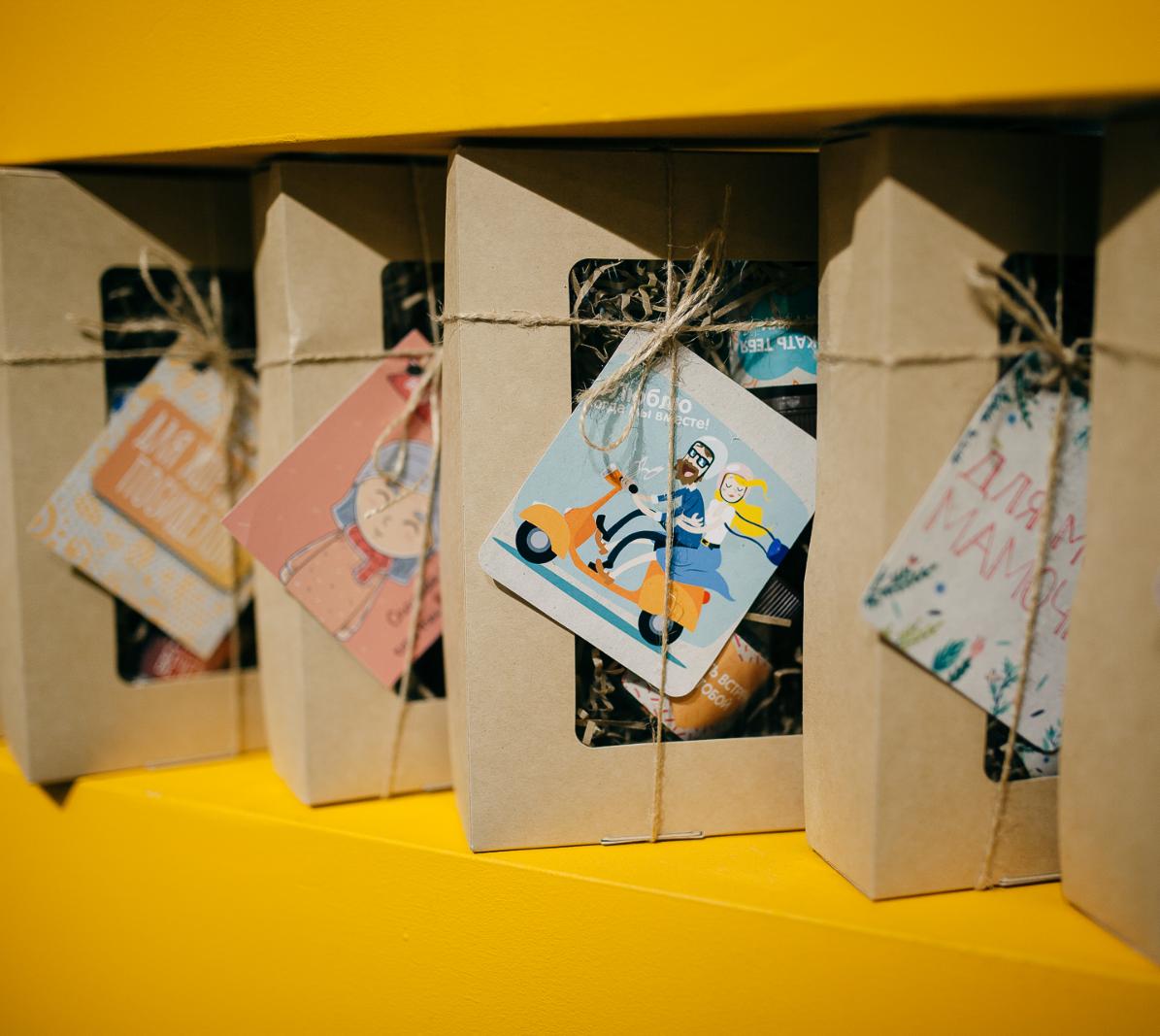 Крафт-наборы чаяПодарочный набор - ассорти смешанных чаев, 5 пожеланий в одном наборе.