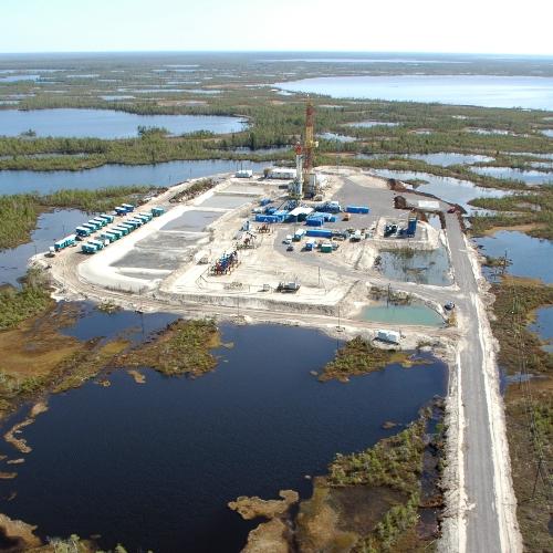 Для обустройства заводов и кустовых площадок газовых месторождений