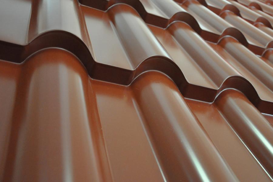 Металлочерепица Каmea, своими выразительными формами, подчеркнут самые смелые архитектурные решения.