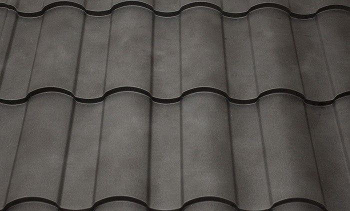 Металлочерепица Кredoэто волощение классических форм с плавной линией в геометрии черепицы и зеркальной симметрии волны