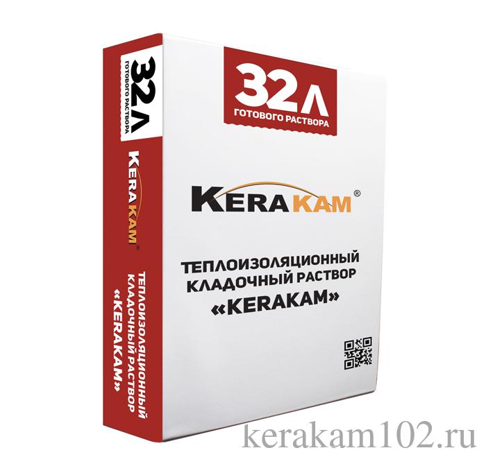 Теплоизоляционный кладочный раствор Kerakam