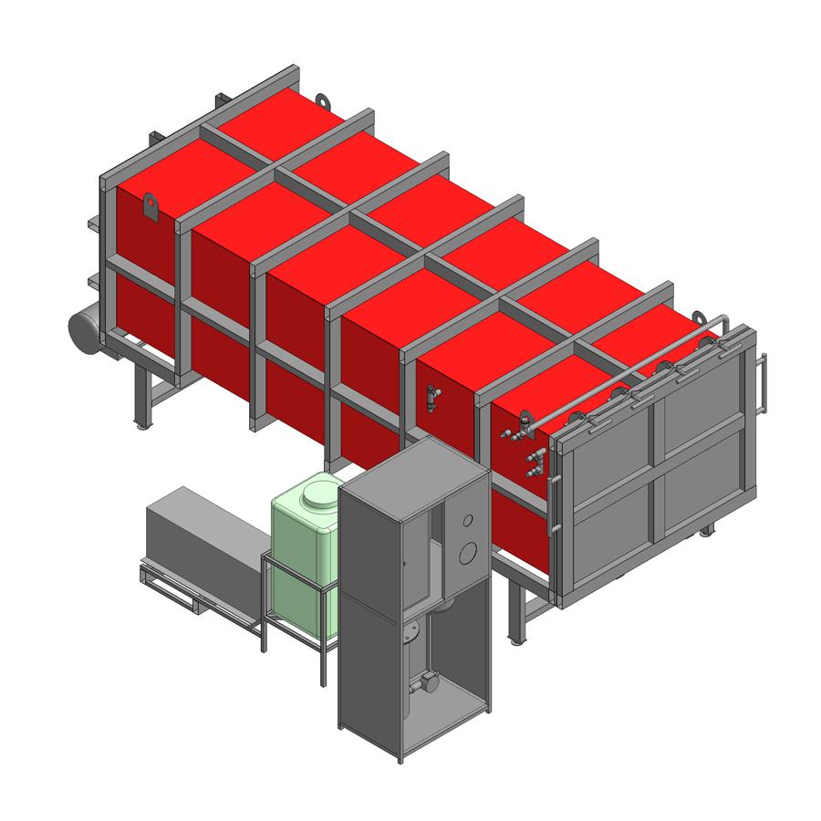 ПВСК -87,8м3 - габариты 6 х 2,4х 1,45 , доска 4м