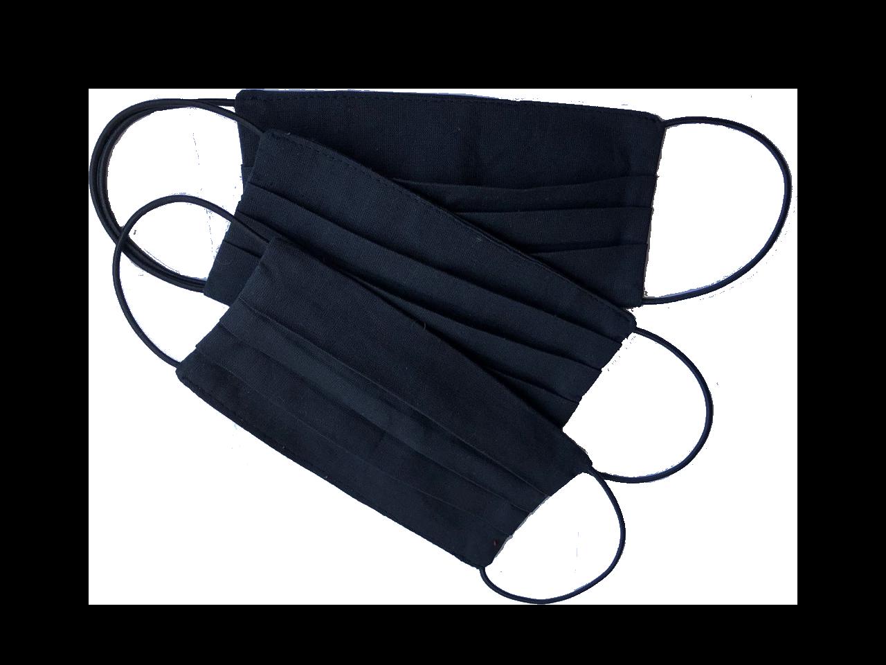 Дарим каждому клиенту по 3 черные защитные маски