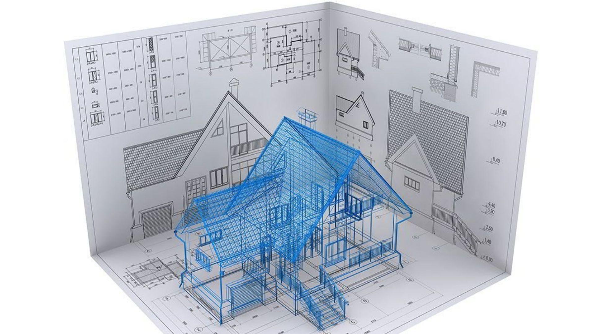 Проект дома с учётом ваших пожеланий, проект планировки участка в подарок