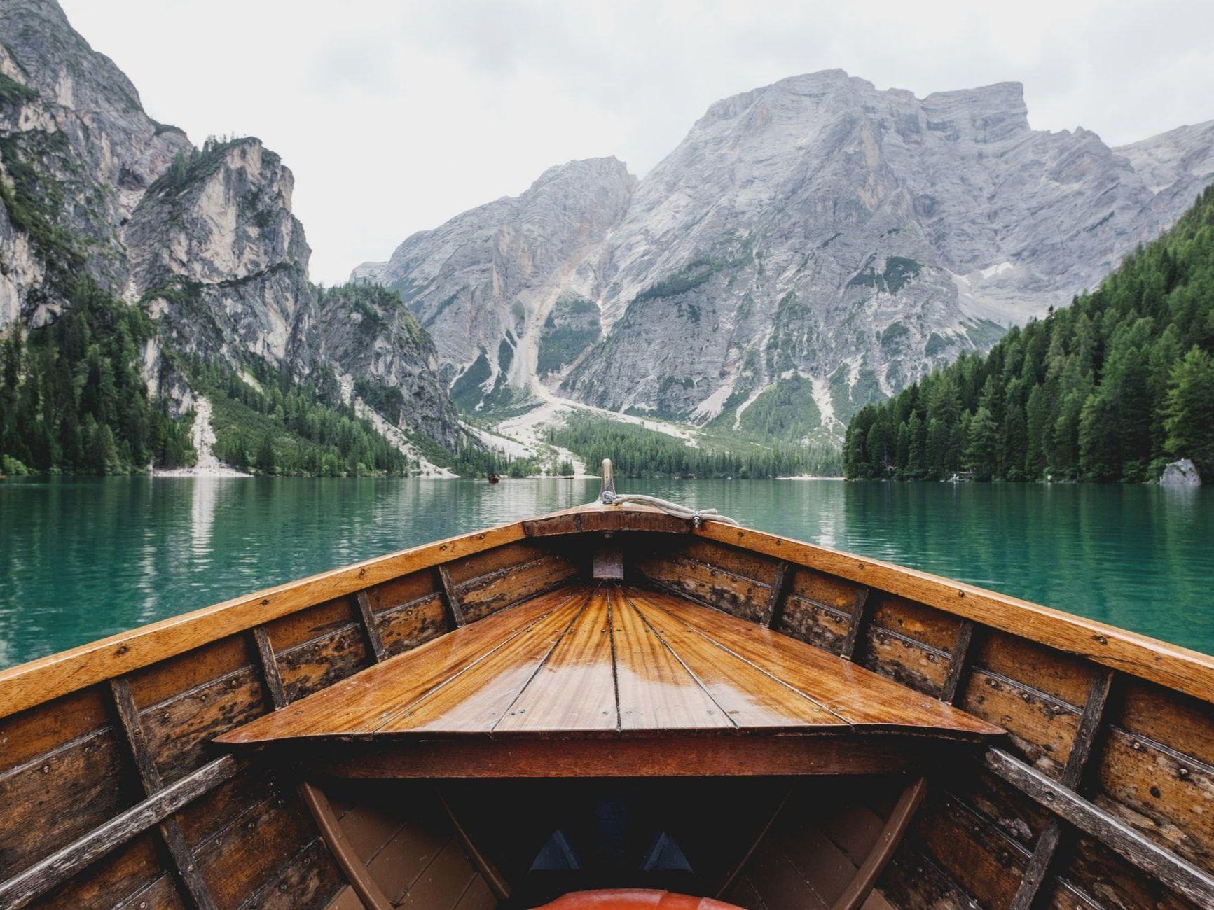 Lago di Braies, Italy