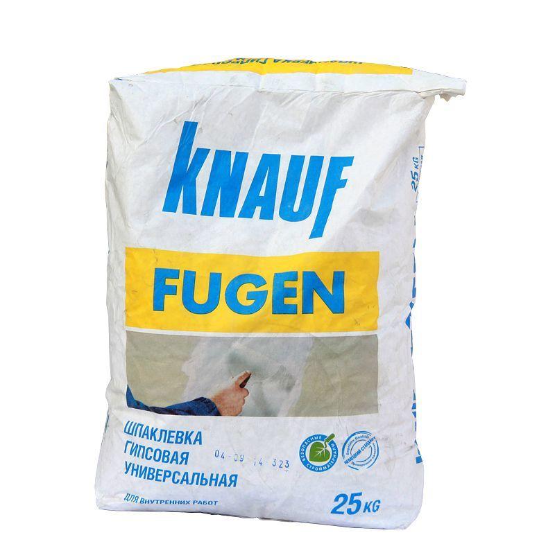 Шпатлевка гипсовая Фуген25 кгKNAUF490 руб