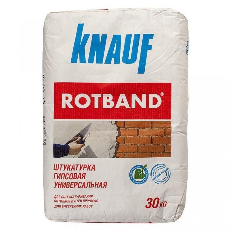 Штукатурка гипсовая Ротбанд30кг KNAUF570 руб