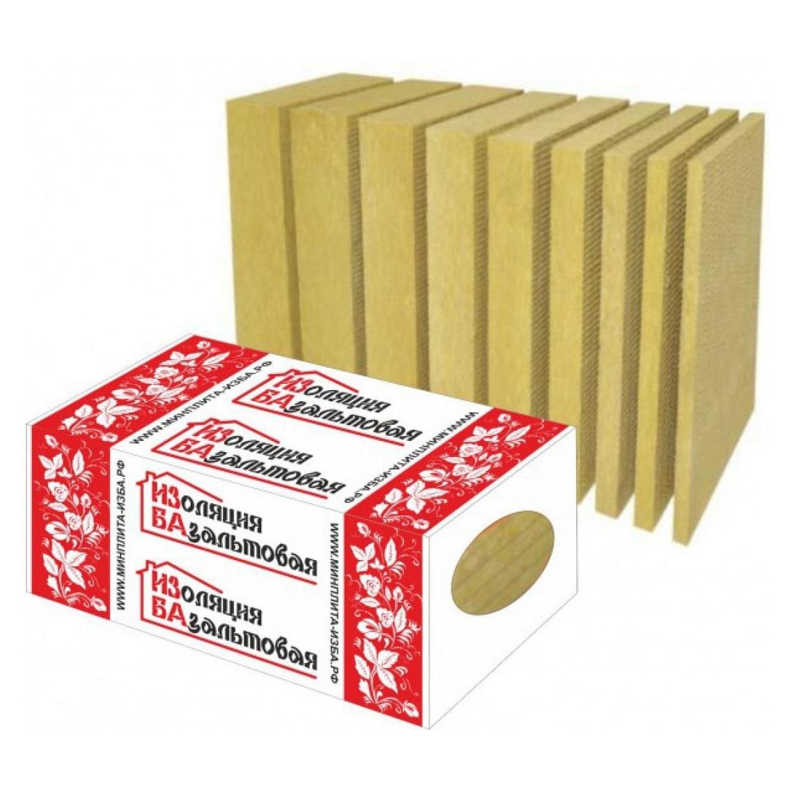 Теплоизоляция ИЗБА-501000х600х50 (30кг/м3)430 руб