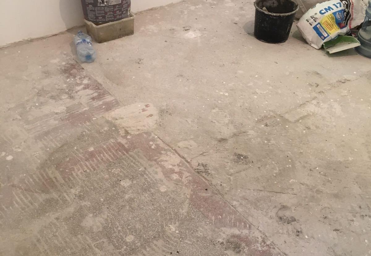 Inaltarea pardoselii max 5 mmAutonivelanta + MicrocimentIlfov, 200 m2