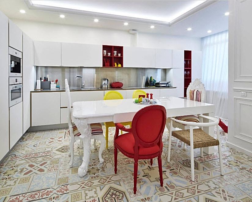 Кухня стиль модернот 120000 руб.МДФ,ЛДСП Egger, фурнитура Blum