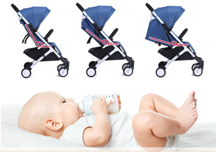 Для самых маленьких 0+Благодаря своему дизайну, YOYA Plus подходит для детей возраста 0-36 месяцев!