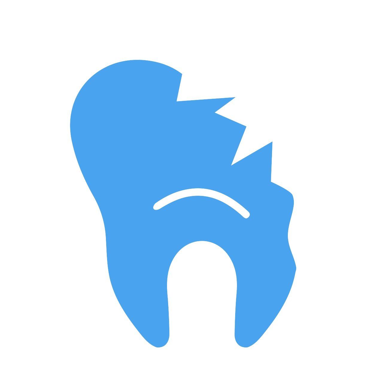Разрушенные зубыИмплантация проводится за несколько минут.