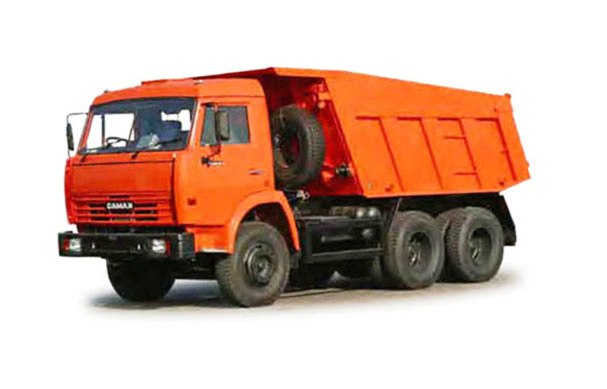 25 единиц грузовой техники. Погрузчики, самосвалы, фуры.