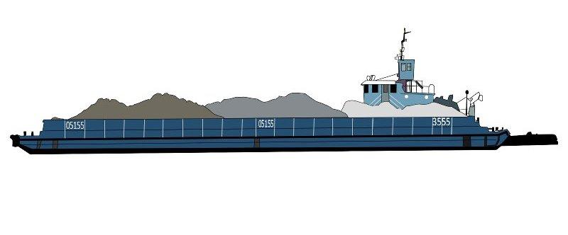 Буксирный флот. Баржи грузоподъемностью 600-1000 тонн,  баржи с аппарелью. Плавкраны - 5 тонн. Вспомогательный флот. Земснаряды для добычи песка, производительностью  350 м3 в час.