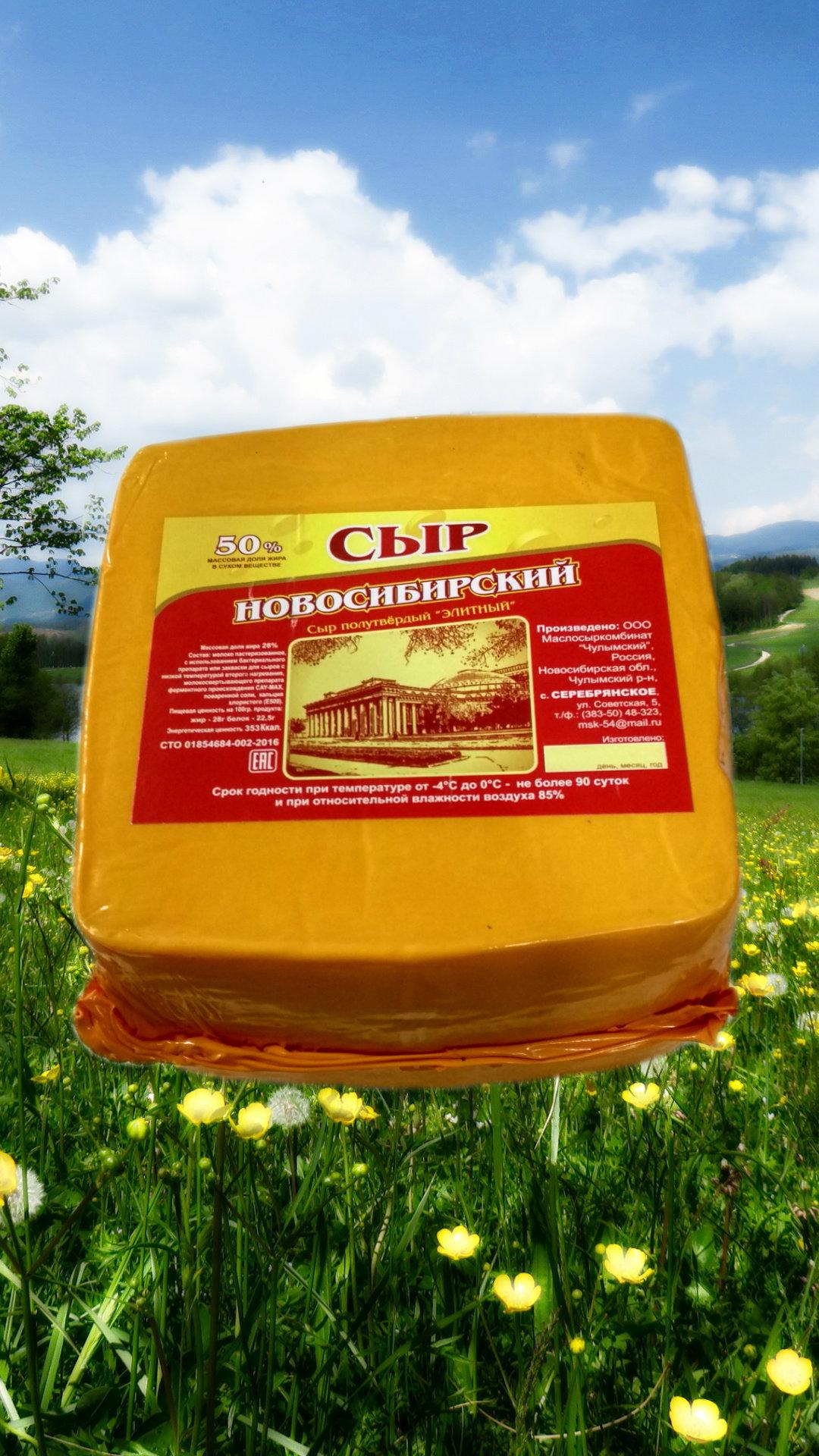 Сыр (полутвердый, колбасный, плавленый)