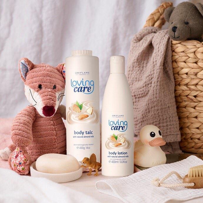 Loving Care — линейка продуктов по уходу за кожей для всей семьи в магазин