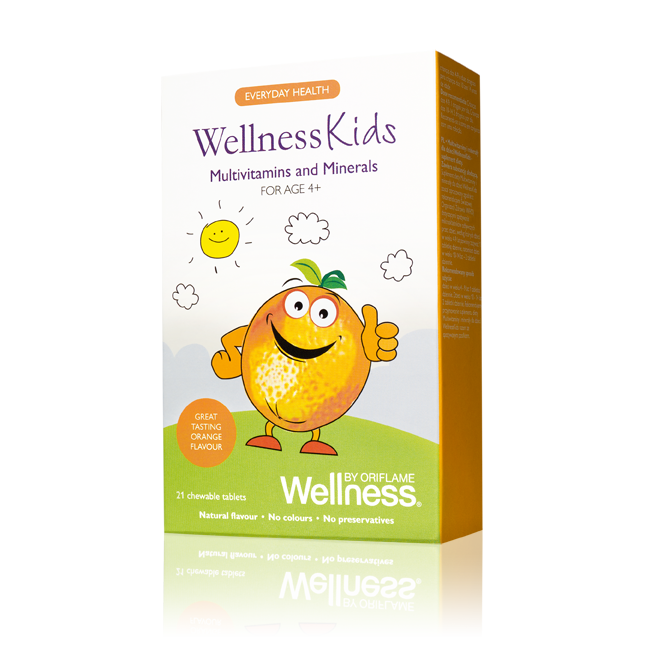 Multivitamins and Minerals WellnessKidsподробнее