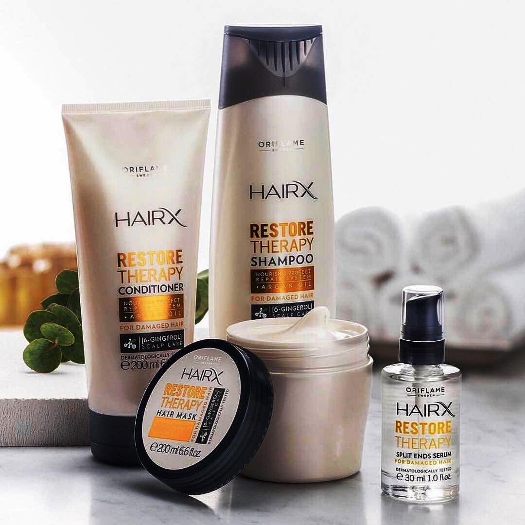 Серия HairX в магазин