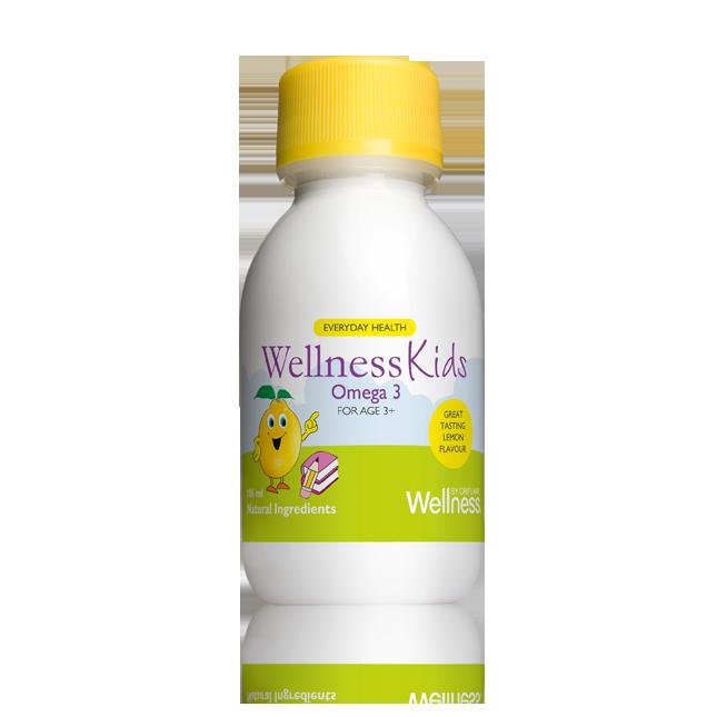 Omega-3 WellnessKids 105 ml с лимонным вкусомподробнее