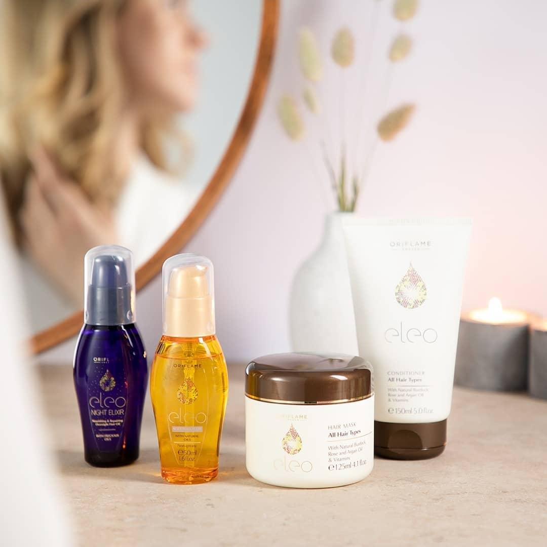 Питательное и Восстанавливающее масло Eleo для волос против секущихся кончиков в магазин: выбрать заказать: