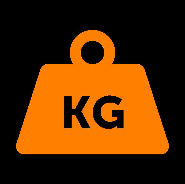 30килограммМинимальный вес груза