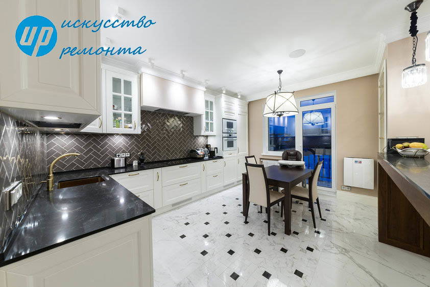 Просторная КухняОформление интерьера кухни - это огромное количество вариаций декора на самые разные темы, главное выбрать то, что Вам по душе.