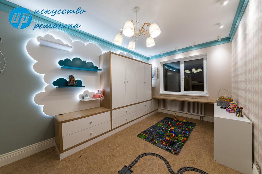 Детская КомнатаДетская комната становится для ребёнка прототипом целоги мира, где он не просто проводит время и отдыхает, но и закомится с жизнью!