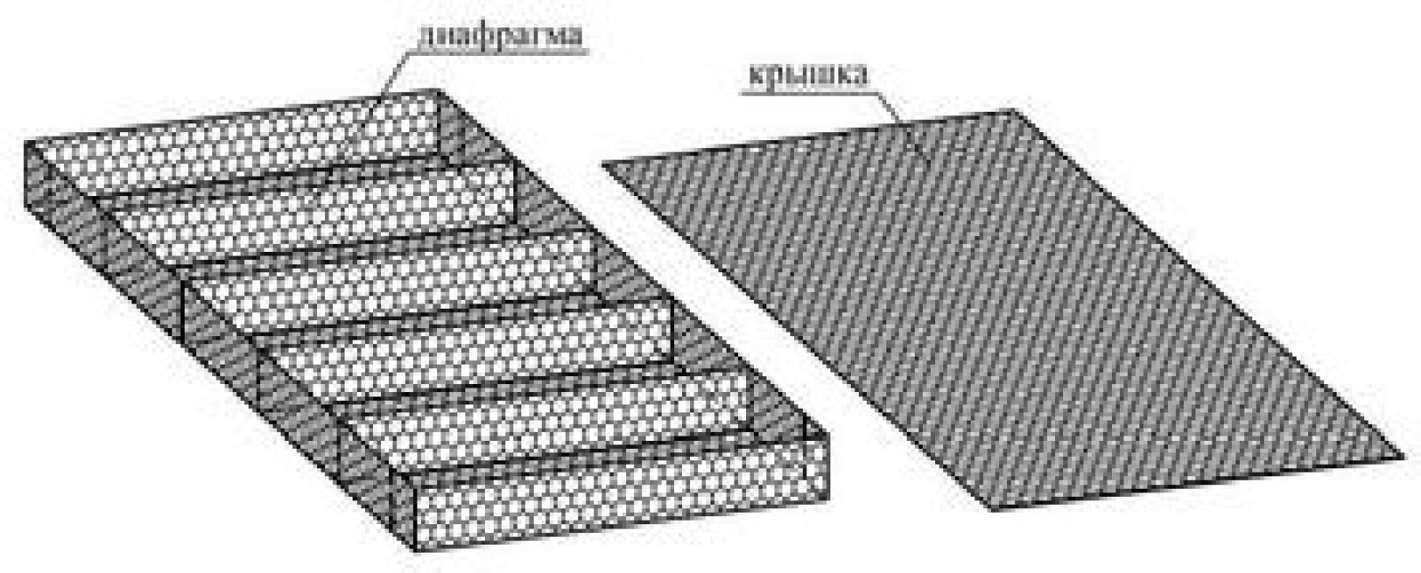 Габион матрацного типаСтандартные размеры: