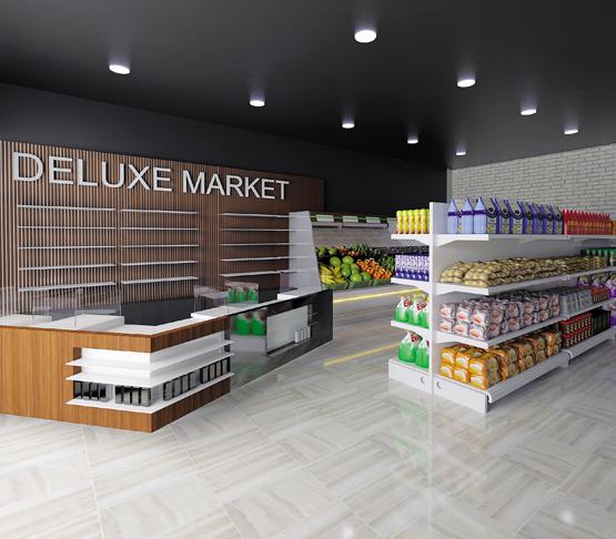 Супермаркет Собственный маркет с качественными продуктами