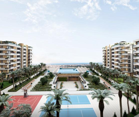 Лоджия АнталииНезабываемый панорамным вид на Анталью, Средиземное море и горы